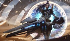 ArtStation - Pulsefire Caitlyn for League of Legends, Chengwei Pan