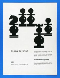 use of known symbols in a different context Geigy Design: Karl Gerstner