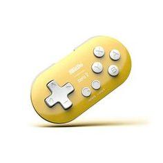 8bitdo Zero 2 Bluetooth Gamepad - Gelb Game Controller, Nintendo Wii Controller, Bluetooth, Zero 2, Mac, Android, Nintendo Switch, Games, Pink