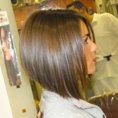 hair styles for medium hair, I like the angle of the cut