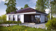 Тренд-106 Проект традиционного современного удобного одноэтажного жилой дома