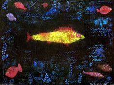 KLEE クレー 金色の魚