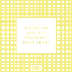 kikki.K Journal Prompt - Where do you see yourself in the next year #inspiration #stationery #quote