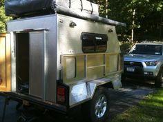 Camping Trailer Diy, Diy Camper Trailer, Off Road Trailer, Camper Van, Trailer Plans, Trailer Build, Overland Trailer, Teardrop Trailer, Travel Trailers