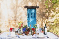 wedding table vintage