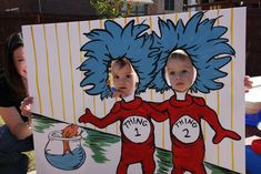If only I had artisitic abilities! How cute would this be at a Dr. Suess birthday party?!
