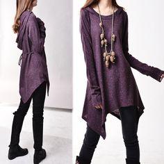 Die erste Zeile - strickt Tunika-Kleid (Q5101)