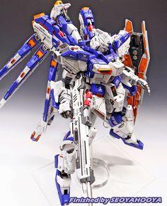 GUNDAM GUY: 1/72 RX-93 Hi-Nu Gundam - Customized Build