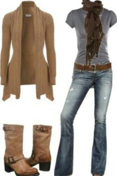 Casual Fall Outfit by georgette
