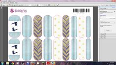 Do you love your high school and want to show some spirit?  I made these wraps in the Nail Art Studio of Jamberry for Salem Hills High School.  http://jamminhotmamatg.jamberrynails.net