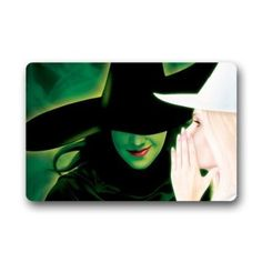 Wicked the Musical Broadway Custom Outdoor Indoor Doormat Personalized Design MachineWahable Neoprene Rubber Doormat 236x157 Inch *** You can find more details by visiting the image link.  This link participates in Amazon Service LLC Associates Program, a program designed to let participant earn advertising fees by advertising and linking to Amazon.com.