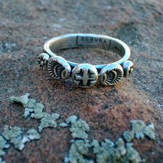 Ring of Faith Sterling Silver Southwestern by SantaFeSilverworks