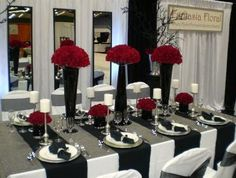 Table decorating setting