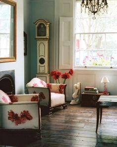 Colorful And Airy Spring Living Room Designs | DigsDigs