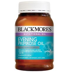 New Blackmores Evening Primrose Oil 190 Capsules Women's Health Primrose Oil, Evening Primrose, Bodybuilding Supplements, Best Supplements, Best Oils, Rosehip Oil, Essential Fatty Acids, Fish Oil