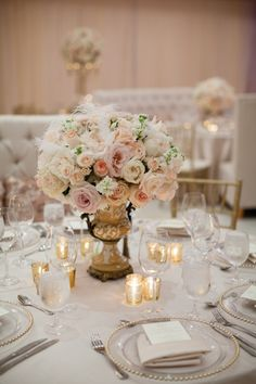 The Prettiest Texas Wedding You Ever Did See from Archetype Studio - wedding centerpiece idea