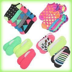 Neon socks from shopko #shopko
