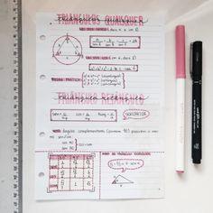 My little studyblr Bullet Journal School, Bullet Journal Notes, School Organization Notes, Notebook Organization, School Notes, Pretty Notes, Good Notes, Beautiful Notes, Math Notes
