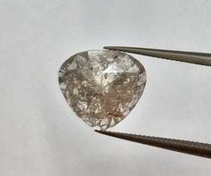 Teardrop diamond, Shiny Diamond, Rustic diamonds, rustic diamond, diamond slice - Engagement Rings