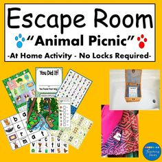 Escape Room For Kids, Escape Room Puzzles, Kids Room, Class Birthdays, Classroom Birthday, Home Activities, Apps, Room Posters, Working With Children