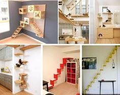 DEcoração em casa, para os felinos >> http://blog.sweetchilli.com.br/mimos-brinquedos-e-decoracao-alternativa-para-o-seu-felino/