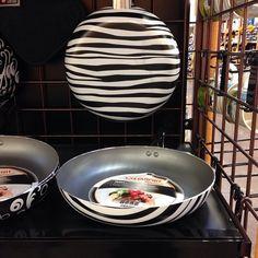Zebra Print Frying Pan<3