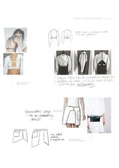 Fashion Sketchbook - fashion design development; creative process; fashion portfolio // Aylin Karakoc