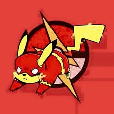 Pikachu as Flash