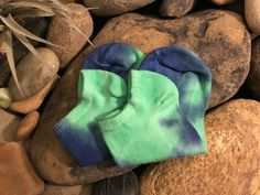 Tie Dye Socks, No Show Socks, Yoga Jewelry, Ankle Socks, Bff, Stylish, Green, Gifts, Etsy