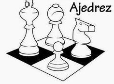 Dibujos para colorear. Maestra de Infantil y Primaria.: Fichas del ajedrez para colorear