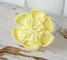 Buy directly from the world's most awesome indie brands. Or open a free online store. Handmade Hair Accessories, Fabric Jewelry, Easy Wear, Hair Accessory, Meringue, Daffodils, Pretty Flowers, Photo Props, Sunshine