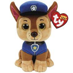 Ty Beanie Boo - Paw Patrol Chase Shepard Dog  da153e853b14