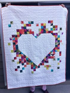 Ski to Sea Queen Quilt | Finished or Not Friday Linky Party!