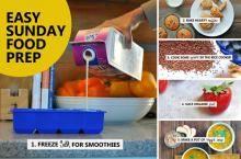 Easy Sunday Food Prep ideas + the yummiest winter veggie soup! ((Curry Pumpkin Chowder)) via Nosh and Nourish.