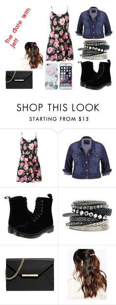 The Date With Jeff by chloefairbairn on Polyvore featuring maurices, Dr. Martens, MICHAEL Michael Kors, H&M and Suzywan DELUXE