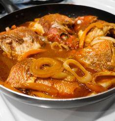 BROWN STEW FISH (fish and gravy) recipe gateway: this post's link + www. BROWN STEW FISH (fish and gravy) recipe gateway: this post's link + www Jamaican Cuisine, Jamaican Dishes, Jamaican Recipes, Stew Fish Recipe Jamaican, Haitian Fish Recipe, Curry Shrimp Jamaican, Jamaican Stew Peas, Guyanese Recipes, Jamaican Curry Chicken