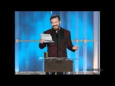 Ricky Gervais opens the Golden Globes again this year despite last years insulting opening monologue. Instead of following the same path as last year which many were expecting, he jokes about the rules he had to follow while opening this years Golden Globes.