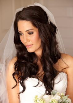 Wedding Hair And Makeup Timeline : Hair, Nails, accessories, etc on Pinterest Half Up, Half ...