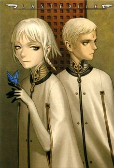 Lord Dio Eraclea (who is super creepy at first, but turns out to be cooler than one would think) and Lucciola (who also turns out cooler than one thinks)