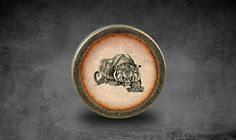 Hey, I found this really awesome Etsy listing at https://www.etsy.com/listing/185617099/tiger-handmade-vintage-bronze-dresser