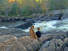 I took this picture of my son and his best friend in Petawawa, ON.
