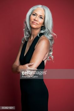 grey hair brown eyes - Google Search
