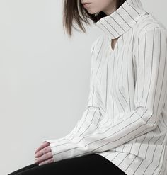 Striped Top - understated style, contemporary fashion details // Rollick