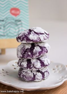 Easy to Make Ube Crinkles Recipe - Bake Happy