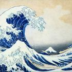 The Great Wave Of Kanagawa by Katsushika Hokusai; one of my favorite works and one of my favorite artists.