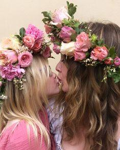 Georgie Adult Flower Crown - Adore Weddings Seasonal Flowers, Colorful Flowers, Types Of Flowers, Flower Vases, Flower Crown, Seasons, Weddings, Flower Types, Crown Flower