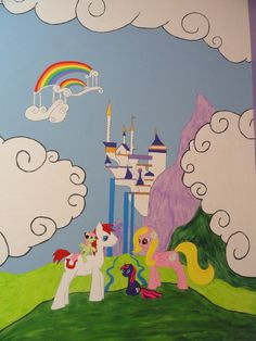 My Little Pony Mural By RighteousBabet.deviantart.com Part 44