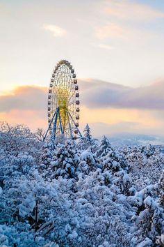 Winter in Tbilisi, By Sergi Grigorian