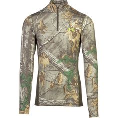Shirts and Tops 177874: Under Armour Cgi Scent Control Tevo Realtree 1259131-946 -> BUY IT NOW ONLY: $34.99 on eBay!