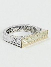 Topman Icon Silver Ring